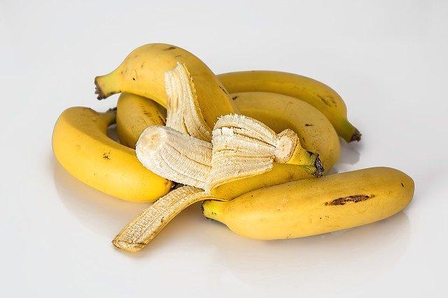 oloupaný banán